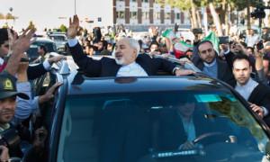 Mohammad Javad Zarif in Tehran