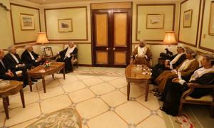 Zarif in Muscat