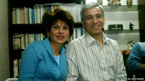 Yassin al-Haj Saleh and his wife Samira al-Khalil