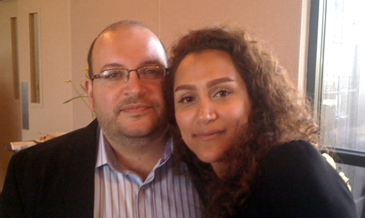 Jason Rezaian and Yeganeh Salehi