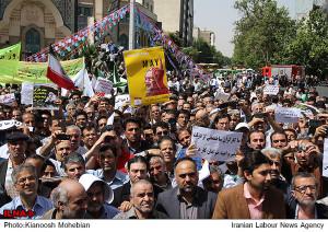May Day Parade in Tehran