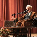 Ayatollah Hashemi Rafsanjani at Amir Kabir University