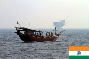 Smuggling suspects on Iranian boat captured off Indian coast