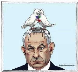 netanyahu caricature