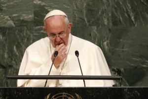 Pope Francis at the UN Assembly