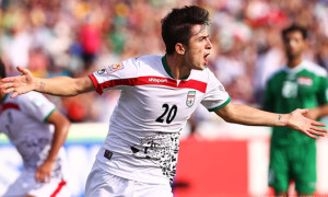 Sardar Azmoun has joined Iran's National team for the past year.