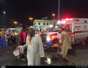accident in Mecca