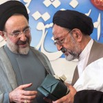 Mohammad Khatami and Mahmoud Doayi