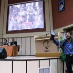 Attack on Mousavi Lari speech