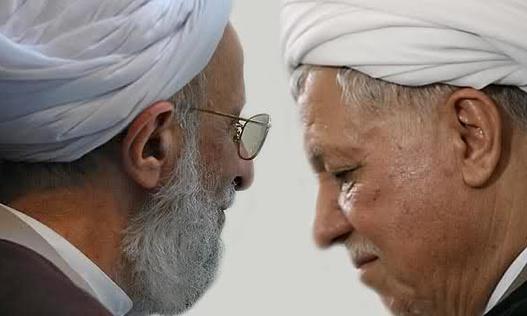 Mesbah Yazdi and Hashemi Rafsanjani