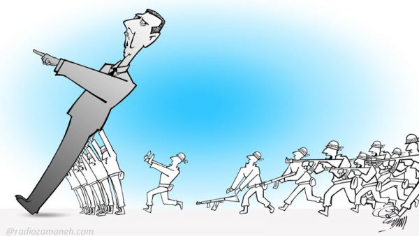 Bashar-assad-Iran-syria-conflict-war-2016-Assad-Binakhahi-Cartoon-600x338