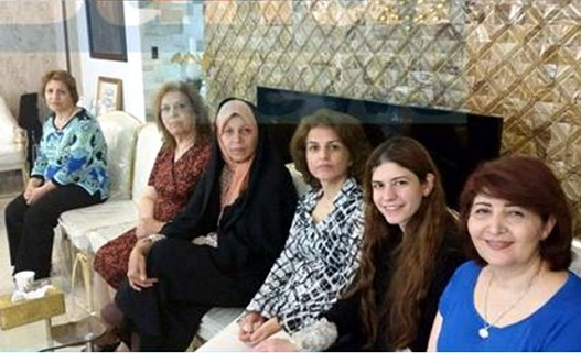 Faezeh Hashemi and Kamalabadi family
