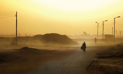 sandstorms