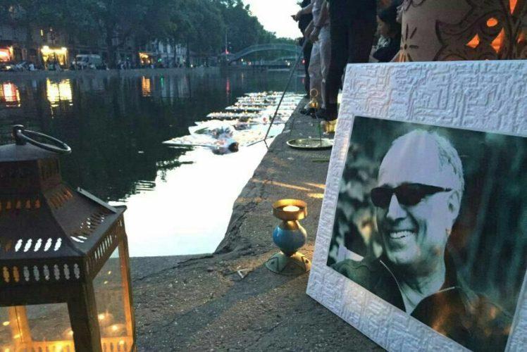 Abbas Kiarostami's funeral service in Paris