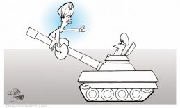 Assad Binakhahi Cartoon Turkey Coup Erdogan Ardoghan