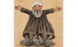 Cartoon Hasan Rohani Jozani Reza rohani_rezajozani_20160620 wide copy