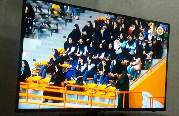 Iranian women sports spectators: in or out?