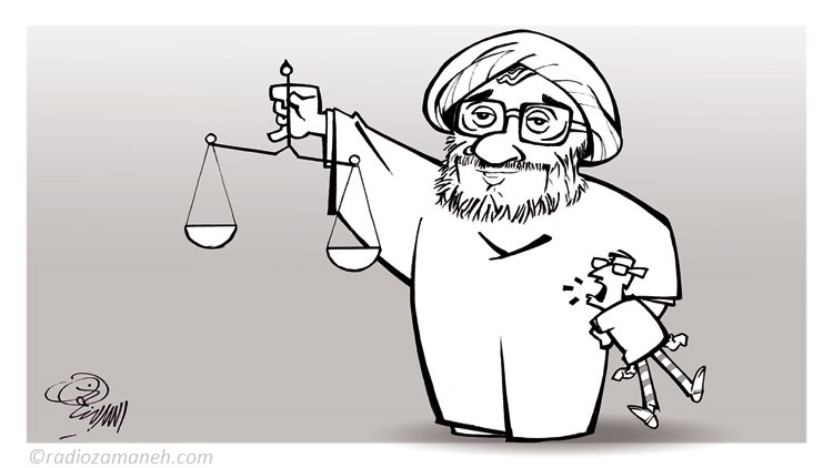 larijani-human-rights-in-iran-assad-binakhahi-cartoon