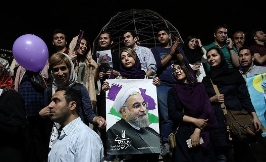 Word on the Street after Moderate's Landslide Win in Iran
